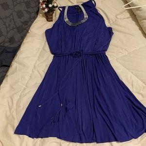 Purple Holiday  Dress