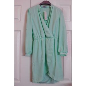 Tobi mint green dress