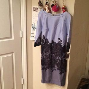 Taylor Floral Shift Dress, Size 10