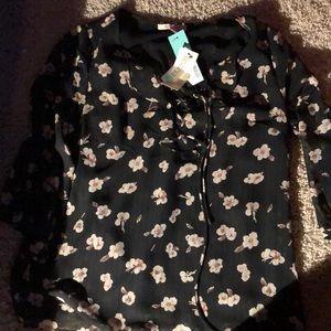 Rueda ruffle detail blouse