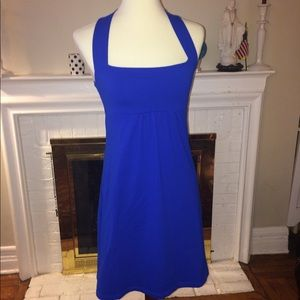 Susana Monaco stretch royal blue Dress Size M