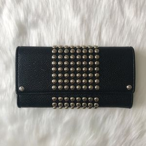 [Henri Bendel] Studded Flap Wallet