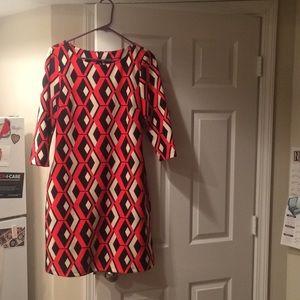 Taylor Mod Shift Dress, Size 10