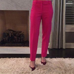 JCrew Pink Ankle Pants. Size 0
