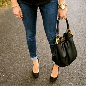 Marc Jacobs Classic Leather Hobo Purse