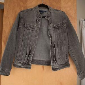 Grey Denim Jacket M, French Connection