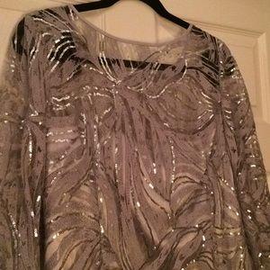 Tahari evening gown