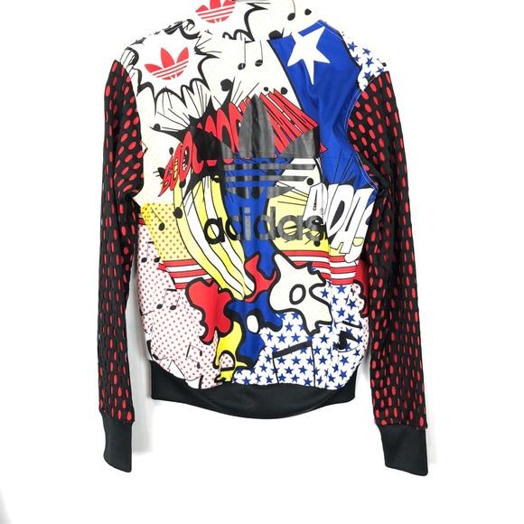 Adidas originals trainingsjacke kimono by rita ora schwarz