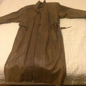 Jackets & Blazers - Vintage classy leather jacket