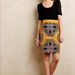 Maeve Anthropologie Pencil Skirt Size 4 Small