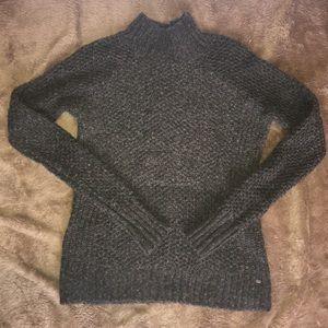 Gray American eagle turtleneck sweater