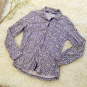 BUNDLE BONUS ~ Boden Printed Knit Button Up Shirt