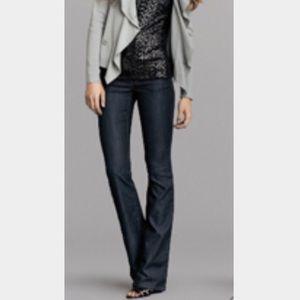 Cabi Bootcut Dark Denim Jeans Size 6 067