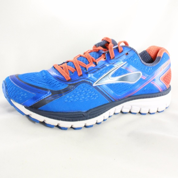 3dd0a89910249 Brooks Shoes - BROOKS Ghost 8 Blue Orange D Width Running Shoes
