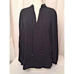 Michael Kors Top Long Sleeve Tunic Sz M Blouse