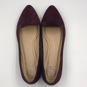 *NEW* Burgundy Suede Vince Camuto Flats