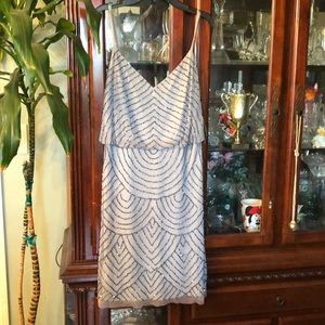 Adrianna Papell sequenced dress *NEW with tag