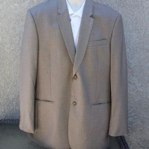 Perry Ellis Classic 46R Brown Sport Blazer #220