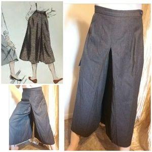 Authentic vintage gaucho pants