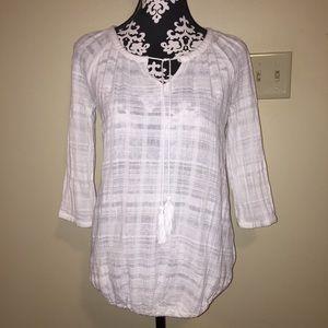Linen Maternity Shirt