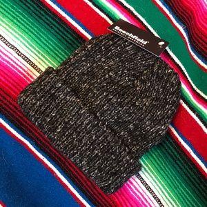 Beechfield Charcoal Gray Knit Short Beanie
