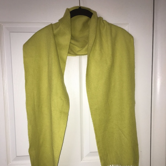 2caabca0e Charter Club Accessories | Luxury 100 Cashmere Lime Green Scarf ...