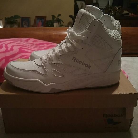 Reebok Shoes | Reebok White Hi Tops
