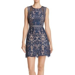NWT Aqua lace cocktail dress