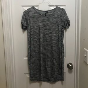 A gray and black dress from Cotton On.