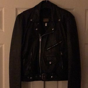 Other - Men's leather motorcycle jacket