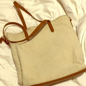 Forever 21 Tan tote $10