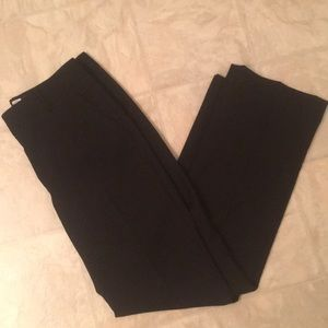 J Crew black dress pants
