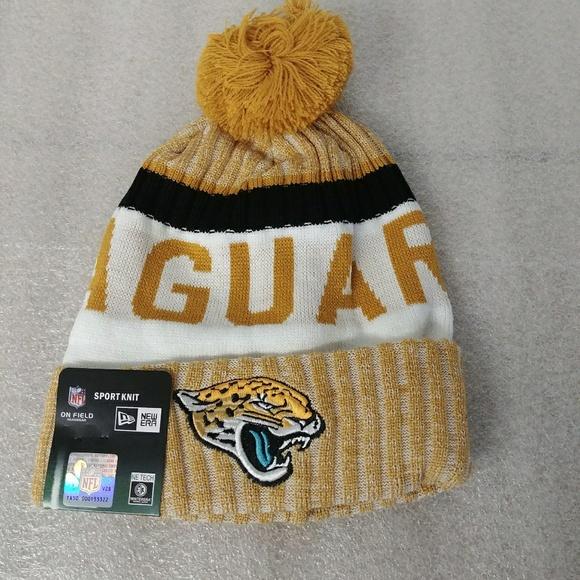 Jaguars jags beanie knit winter hat c87ed7f66d5