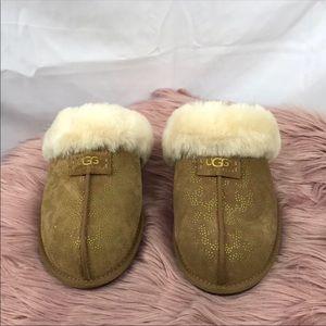 528341f60b4 UGG Shoes   Australia Scuffette Ii Metallic Conifer Slipper   Poshmark