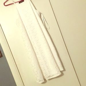 Size 8 Nine West Crochet Lace Type Dress