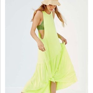 Urban Outfitters Mindy Drop-waist Midi Dress