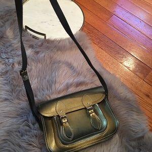 The Cambridge Leather Satchel Cross Body Handbag