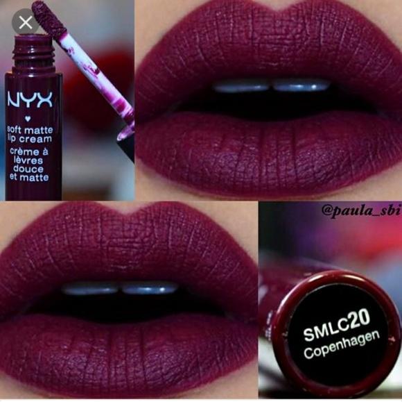 Nyx Cosmetics Makeup Nyx Soft Matte Lip Cream In Copenhagen Poshmark