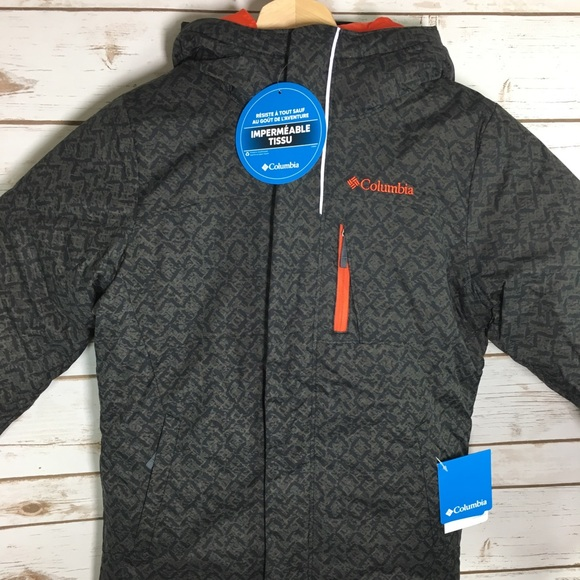 4604b551b Columbia Jackets & Coats | New Boys Jacket Alpine Free Fall Size S ...