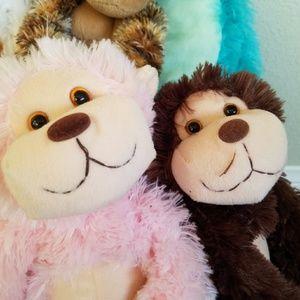 Cal Plush Other Plush Monkeys Set Wvelcro Hands Poshmark