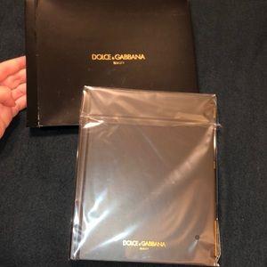 Rare Dolce & Gabbana Black Note Book & Pen/Pencil