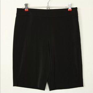 White House Black Market Shorts 4 Black Stretch