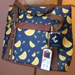 Cool2Go Insulated Picnic Bag Tote Lemons