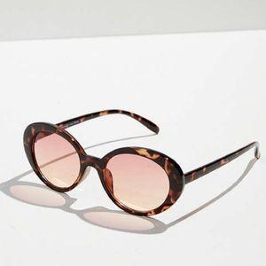 Sadie slim oval sunglasses