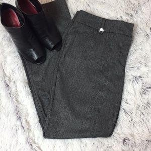 Gray Tweed New York And Company Career Pants