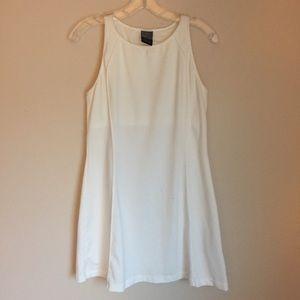 Nike White Mesh Dress