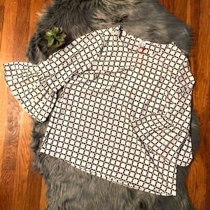 Elle Bell Sleeve Blouse