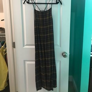 A plaid dress from Silence + Noise.