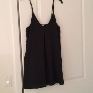 Tobi Black Shift Dress