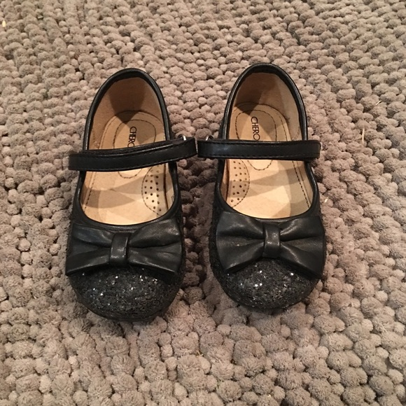 3b192d2dad7f Cherokee Other - Toddler Girl s Black Sparkle Dress Shoes